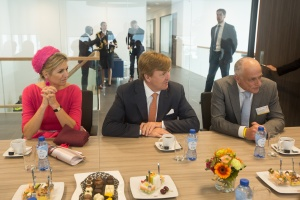 Royal visit to Fresh-Care Convenience